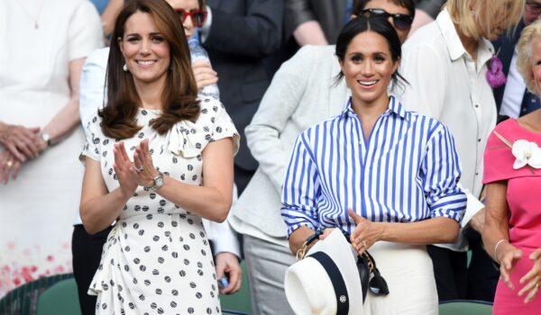 Se un raro comunicato di Kensington Palace vuole mettere pace tra Kate e Meghan