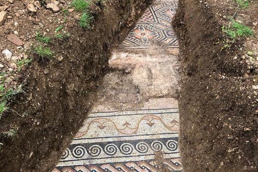 Villa romana viene alla luce tra le vigne della Valpolicella