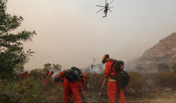 Usa: oltre 1.300 pompieri contro incendio in California
