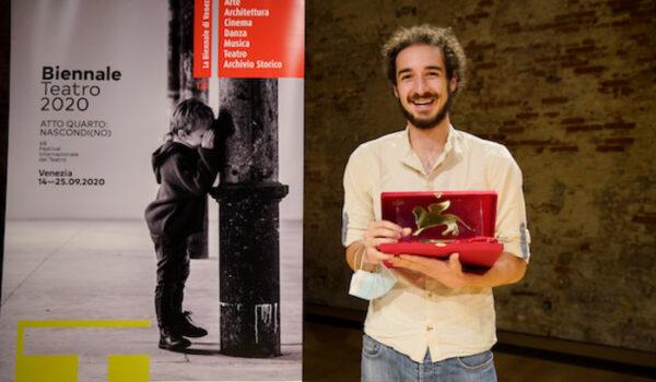 Biennale: Teatro, a Leonardo Manzan targa miglior spettacolo