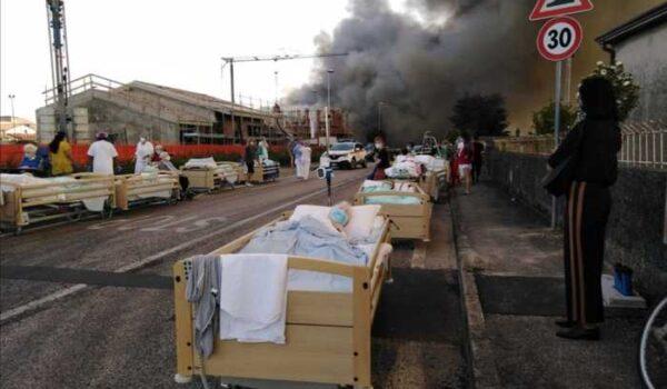 Incendi:fiamme casa riposo nel veronese, 90 in salvo