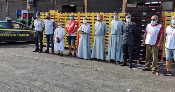 Sequestro 20 tonnellate falsi ortaggi italiani dall'Albania