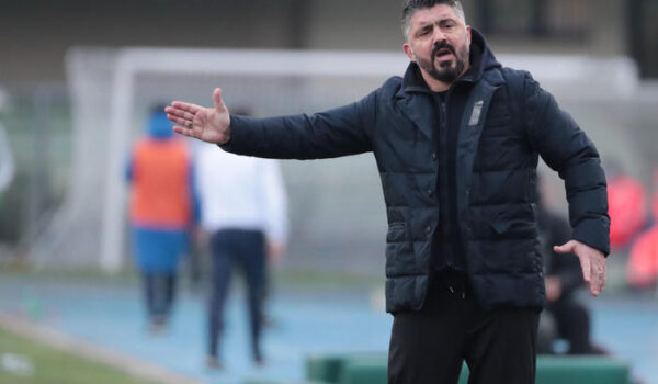 """Gattuso """"Obiettivo Champions, ma non con gare così"""""""