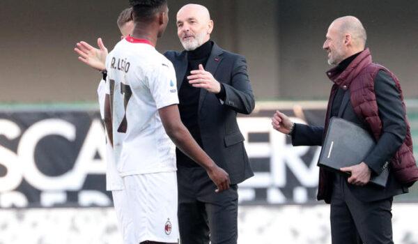 Pioli, non siamo marziani ma Milan è una squadra