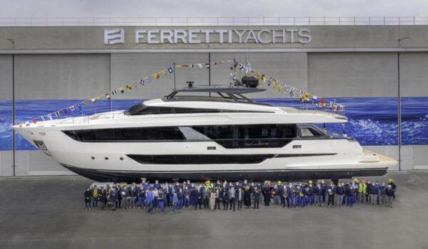 Ferretti: a Salone Venezia in anteprima nuovo megayacht 1000