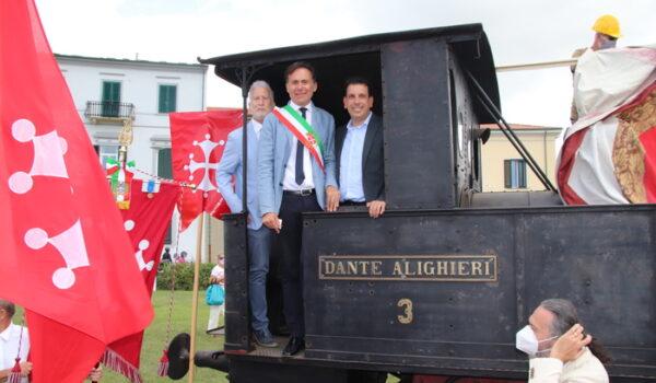 Dopo 100 anni Pisa 'ritrova' locomotiva 'Dante Alighieri'