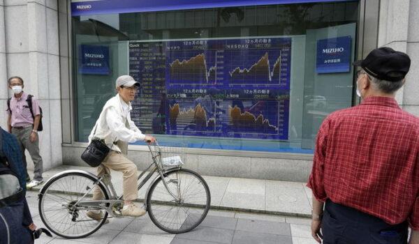 La Borsa di Tokyo apre in calo (-0,56%)
