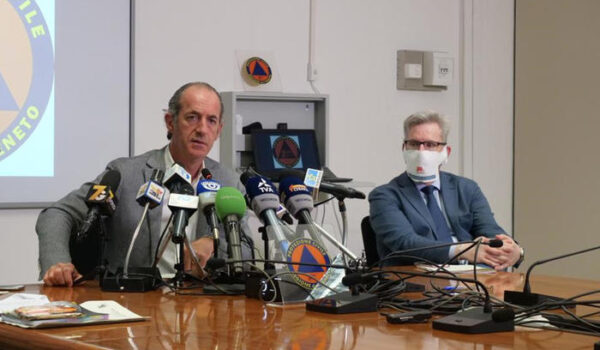 Coronavirus: segnalato alla Procura il diffusore del contagio in Veneto