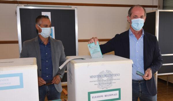 Exit Opinio Rai: Veneto, Zaia al 72-76%