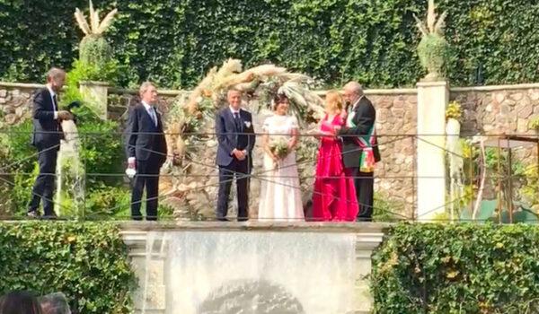 Flavio Tosi e Patrizia Bisinella sposi in giorno elezioni