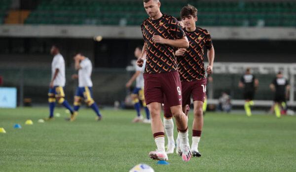 """Roma, Fonseca: """"Dzeko in panchina? Ho voluto preservarlo"""""""